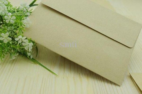 Blank Kraft Envelopes Retro Style High quality Plain Kraft Paper Gift Envelope Office School Supplies 17.5x12.5cm