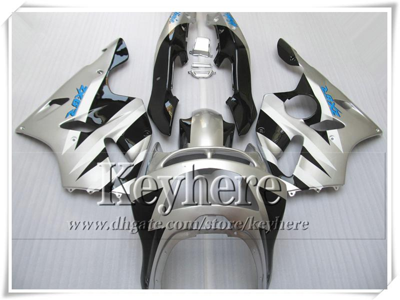 ABS plastic fairing kit for KAWASAKI Ninja ZX6R 1994-1997 white black high grade body work set ZX 6R 97 96 95 94 with 7 gifts Rf1