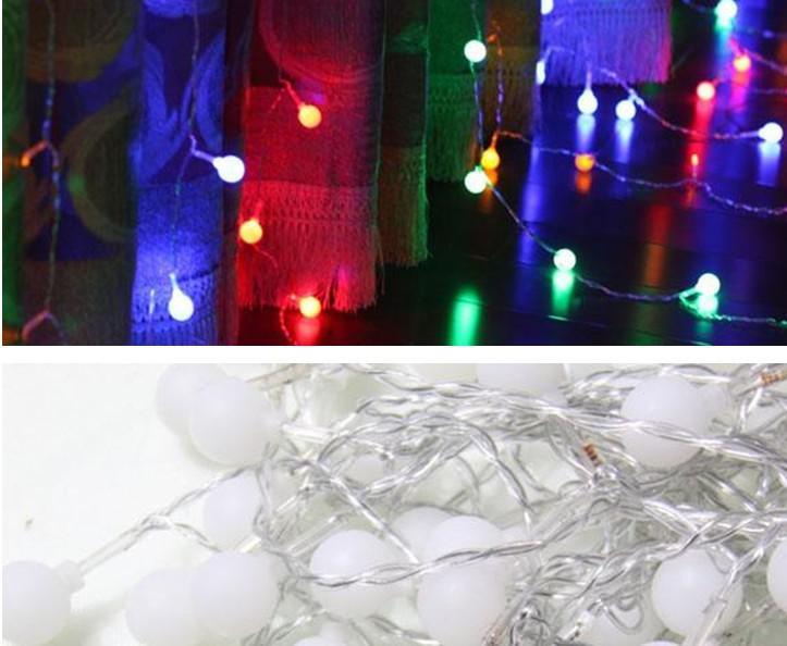 Cherry 2m * 1.65m 130LED String Fairy Gordijn Lights Tuin Kerstmislampen 110V-220V Au UK EU EU US Plug