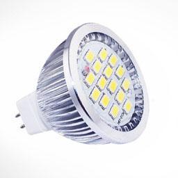 Wholesale 7w 15 Smd Light - 7W Spotlight MR16 LED Lamp Light SMD 5630 15 LED Bulb 12V Cool  Warm White Free shipping