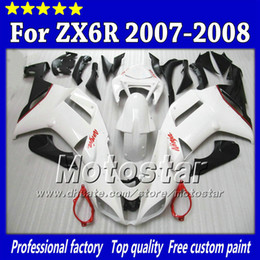 $enCountryForm.capitalKeyWord NZ - 7 Gifts fairings body kit for Kawasaki Ninja ZX-6R 2007 2008 ZX6R 07 08 ZX 6R glossy red white black abs fairing SH108