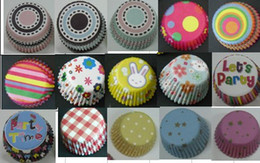 Wholesale Wholesale Decorating Supplies - Mini size 2.5cm base Cake Decorating Supplies Baking Cups Muffin Cases cupcake liners