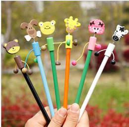 $enCountryForm.capitalKeyWord NZ - *CREATIVEBAR* student prizes   gift shop Animals Kingdom pencil  Cartoon Pencils HB LEAD  10g 18patterns