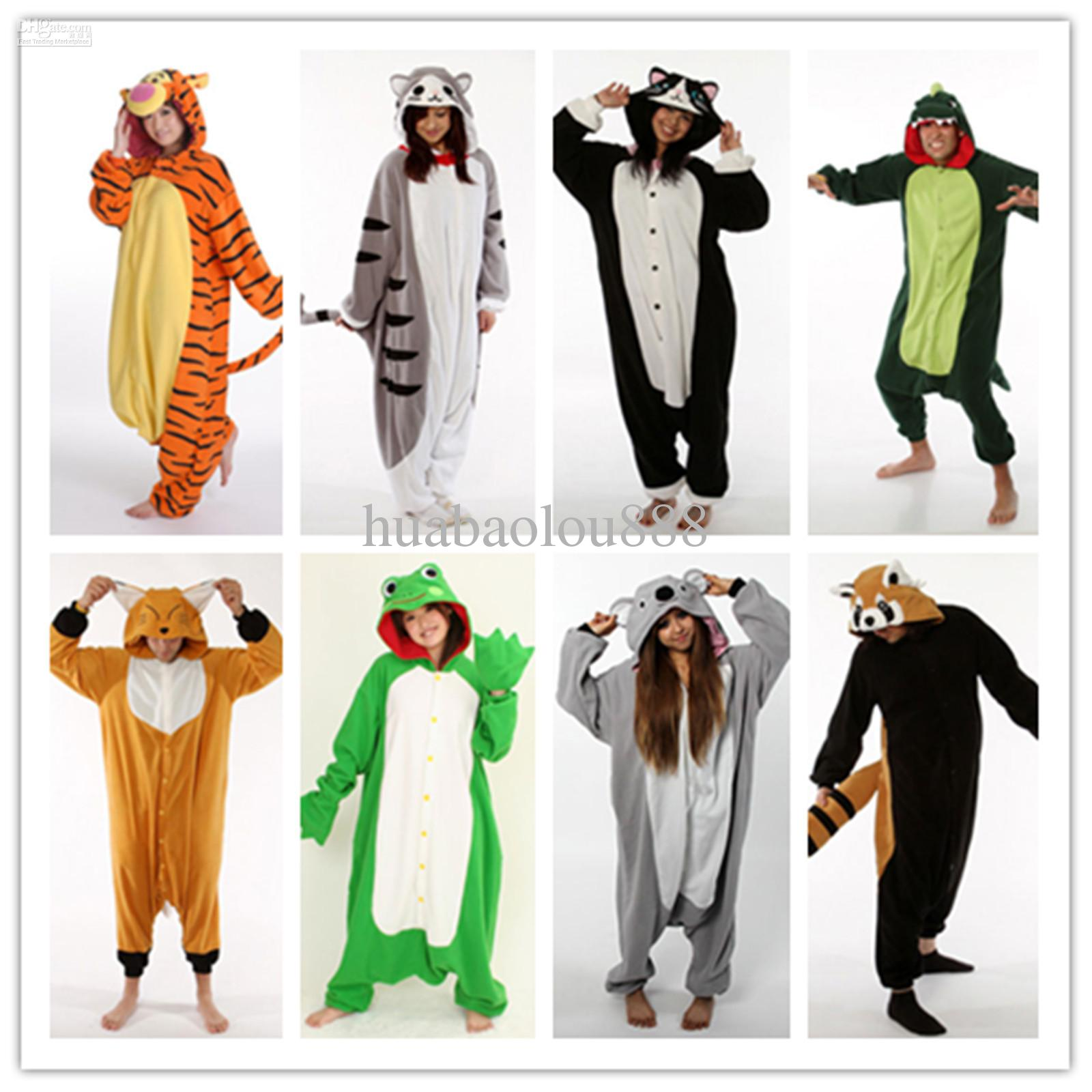 Top Cosplay K Pop Star Animal Pajamas/Pyjamas/Onesie/Jumpsuit/Costume  FP37