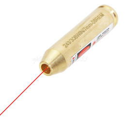 Kartusche boresighter online-Tactical Jagd Messing CAL:. 243 / .308WIN / 7MM-08REM Kaliber Patronen Laser Bore Sighter Red Laser Boresighter
