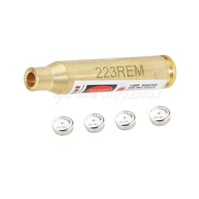 / tattico di caccia di Riflescope del laser di Red Dot 223REM Brass Cartridge Bore Sight Sighter 5,56 Nato Boresight