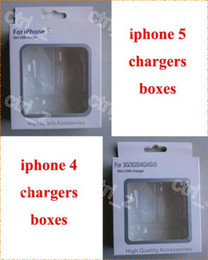 Wholesale 3gs Packaging - Carton Retail Package Packaging Box For USB Wall Charger Cable iPhone 4 4s 3gs iphone 5 5s 5c