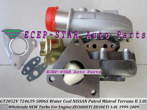 Wholesale nissan patrol resale online - Water Cooled GT2052V S TURBO Turbocharger For NISSAN Patrol Mistral TERRANO II ZD30DDTI ZD30ETI L