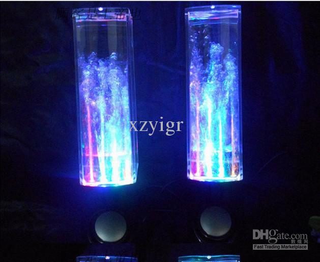 2017 Water Fountain Speakers Dancing Led Lights Laptop