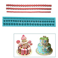 Wholesale Cake Decorating Beads - 6 8 10mm Fondant Cake Bead Mold Sugarcraft Paste Decorating Baking Mould Tool