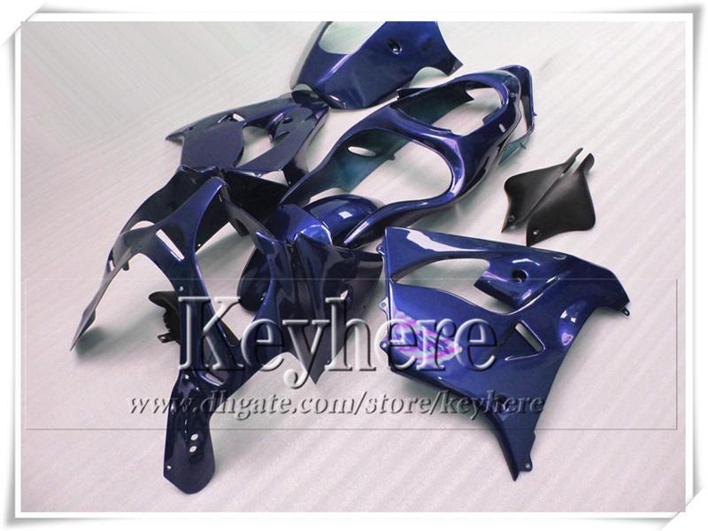 Alta qualidade puro azul motocicleta carenagens para KAWASAKI Ninja ZX 9R 00 ZX9R 01 kit de carenagem de plástico ZX-9R 2000 2001 com 7 presentes sf2