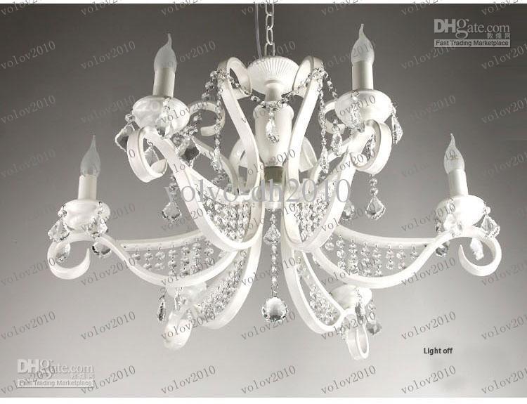 Llfa1456 Luxury Iron Chandeliers Crystal Hanging Bedroom