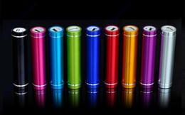 Chargeur de batterie usb s4 en Ligne-Chargeur portatif de banque de puissance d'USB de chargeur de batterie de 2600mAh pour Sumsung Note2 Note3 S3 S4 S5 I9600 HTC tous les téléphones avec le paquet de détail
