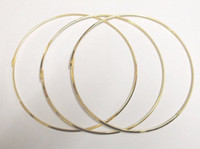 Wholesale Jewelry Wire For Choker Necklace - Free Shipping 10pcs lot Gold Plated Chokers Necklace Cord Wire For DIY Craft Jewelry Gift 18inch W19