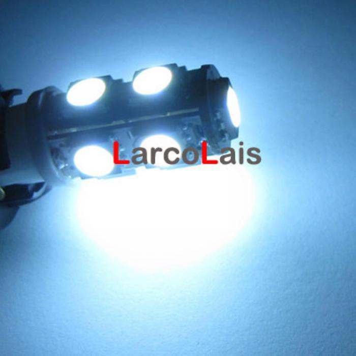 Белый 9 SMD 5050 LED T10 W5W 194 168 3CHIPS авто свет лампы лампы лампы 9led 9-LED