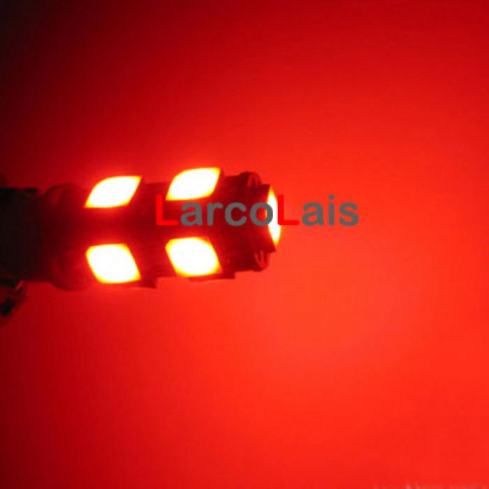 화이트 9 SMD 5050 LED T10 W5W 194 168 3CHIPS 자동차 자동 조명 전구 벌브 램프 9LED 9-LED