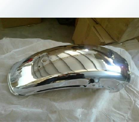 Nuevo para Suzuki GN250 GN125 Rear Chrome Fender / Guardabarros D-864