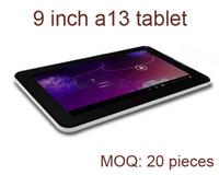 Wholesale tablet china android capacitive online - freeshipping quot inch inch Allwinner A13 Android Tablet PC GHz MB GB Camera Wifi MID