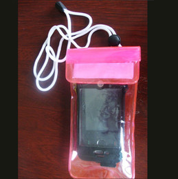 Wholesale Mp3 Plastic Case - Underwater PVC Premium Waterproof Bag Case Pouch for Mobile phone Mp3 Mp4 Dry Bag XMAS Gift free delivery
