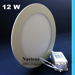 Wholesale Size 15w - 10PCS 100% Full Watt Standerd Size Super High Lm Round 6W 9W 12W 15W 18W 24W Led Panel downlight and Ceiling Thin lamp AC85-265V Express