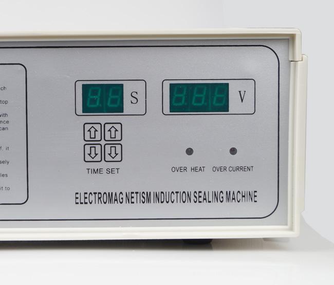 EMS Máquina de selagem de garrafa de indução magnética portátil folha de Alumínio aferidor 110 V / 220 V # BV192 @ EF