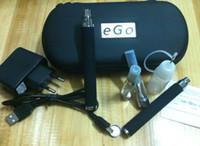 Wholesale Ego V Sets - 2014 1set LED Light eGo V 3.2v 3.7v 4.2v E Cigarette USB Passthrough Electronic cigarette 650mah Free Shipping