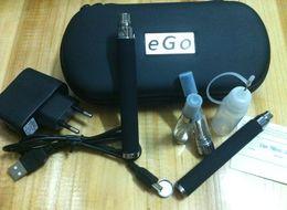 Wholesale Ego Cigarette Led Set - 2014 1set LED Light eGo V 3.2v 3.7v 4.2v E Cigarette USB Passthrough Electronic cigarette 650mah Free Shipping