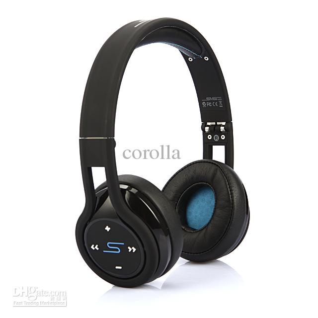 2013 NEW SMS Audio SL350 STREET by 50 cent headphones On-Ear Wireless Black White Headsets fast ship via DHL for sample drop ship