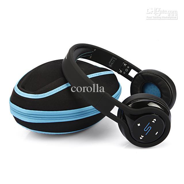 2013 Nieuwe SMS Audio SL350 Street met 50 Cent Hoofdtelefoon On-Ear Wireless Black White Headsets Snel schip via DHL Best Factory Prijs !!