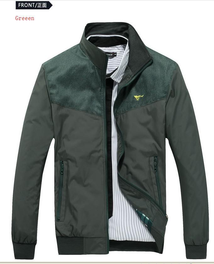 New Spring Outerwear Jackets Men's Business Casual Jackets