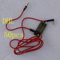 Red Wires for Headphone 3. 5mm Replacement Cable Audio L Plug...