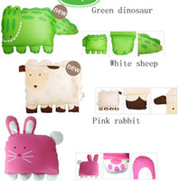Wholesale Baby Doomagic - Free Shipping Doomagic Children's Pillow Case New Lamp Dino Baby Pillowcase sheet Pillow Covers Weeping Kid Pillow Sheath D217