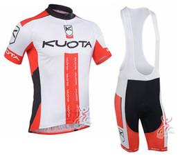 Wholesale men cycling jersey kuota - 2013 KUOTA Team cycling jersey  cycling clothing  cycling wear+short bib suit-KUOTA-2B Free Shipping