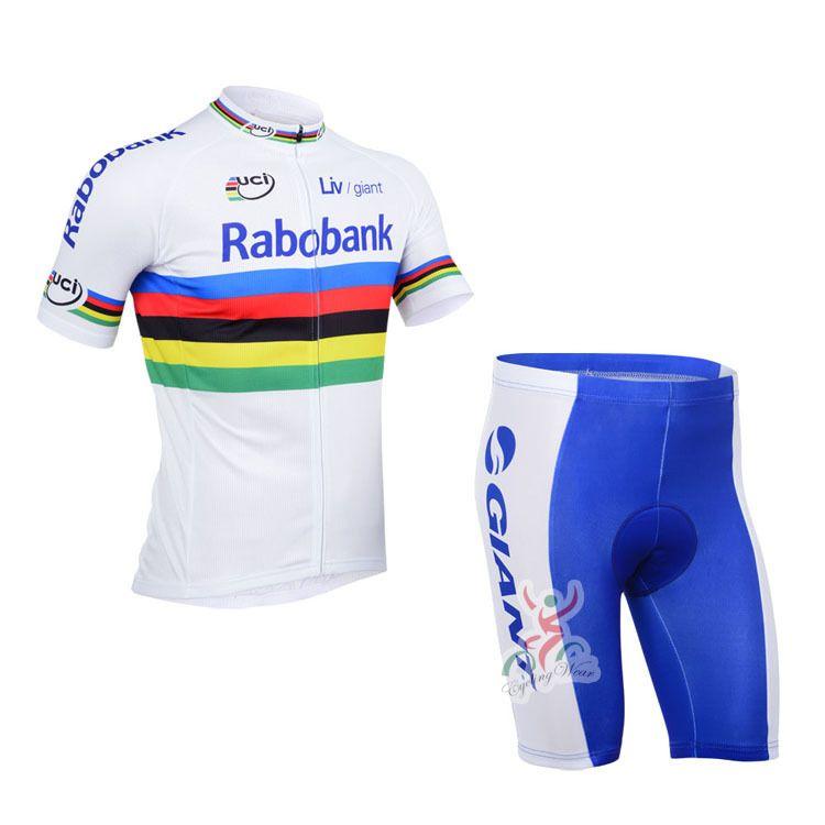 2013 rabobank Team cycling jersey/ cycling clothing/ cycling wear+shorts bib suit-rabobank-2A