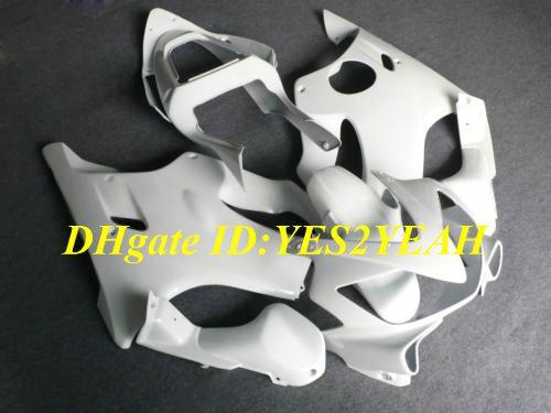 Kuipenset voor HONDA CBR600F4I 01 02 03 CBR 600 F4I-carrosserie CBR600 F4I CBR600 2001 2002 2003 Witte FUNDINGS KIT + 7GIFTEN HY22