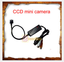 Mini CCD CCTV Security Color Camera OSD D-WDR