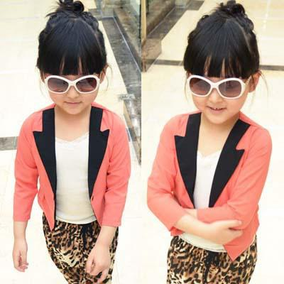 Hot Selling Baby Clothing Girl S Fashion Blazers Coat Spring Autumn
