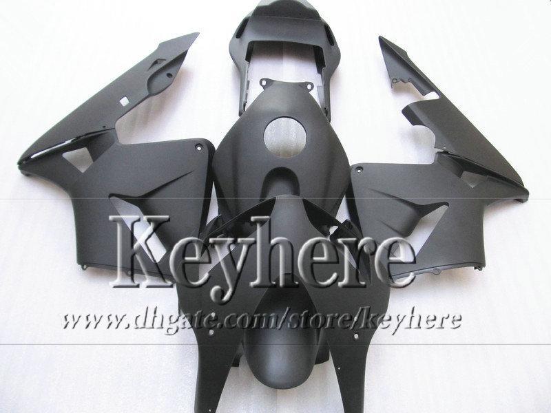 ABS todo el kit de cuerpo carenado negro mate para CBR 600RR 03 04 Honda nuevo mercado de accesorios CBR-600RR 2003 F5 CBR600RR 2004 con 7 regalos By57