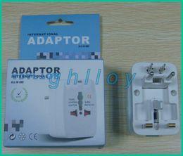 Adaptateur universel tout-en-un, adaptateur international, Apator dans le monde entier, adaptateur secteur 30-50pcs ? partir de fabricateur