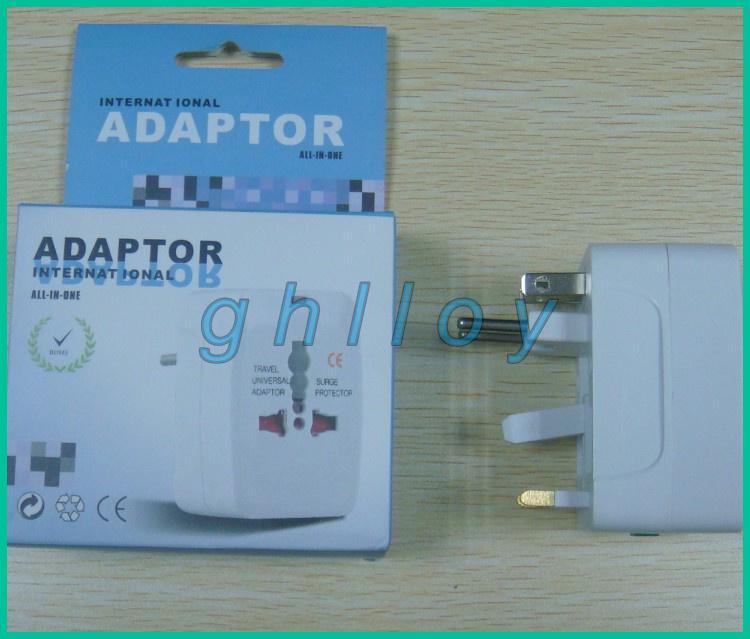 US AU EU UK International mehr als 150 Land alle in einem Spielraum-Adapterwandadapter /