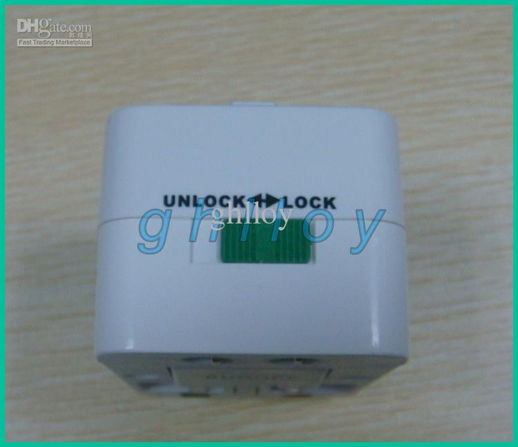 Universeller internationaler Stecker-Adapter-Adapter ALLES IN EINEM Wechselstrom-Netzstecker-Reiseadapter /