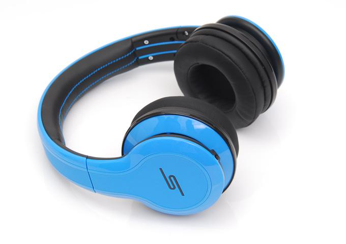 SMS AUDIO 50 cent headphones Street Wired DJ Headphones headsets blue color sample for drop ship fast ship via DHL