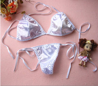 Wholesale Cheap Thongs Bras - Cheap lace thong bikini female seduction sexy passion T pants women's underwear bra sets