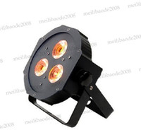 Wholesale par led rgbaw - Ultra Bright Flat RGBAW Par 38 Wash Fixture with 3ps*15w RGBAW-Tint-5- 5-In-1(RGBAW) Leds MYY5213