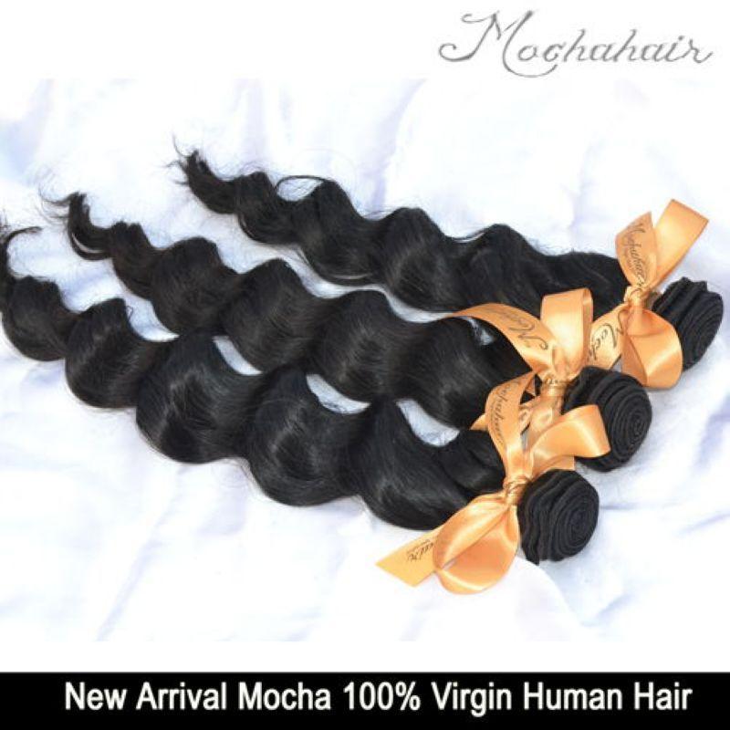 İşlenmemiş Saç 6A 5 adet Mix Bakire Brezilyalı Saç Gevşek Wave12 '' -26 '' Toptan Doğal Renk Boyalı Saç Uzantıları Olabilir