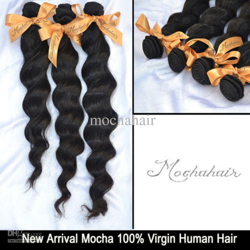 Cheveux Non Transformés 6A Mélanger Virgin Brésilien Cheveux Lâche Wave12 '' - 26 '' Couleur Naturelle En Gros Peut Être Teinté Extensions De Cheveux