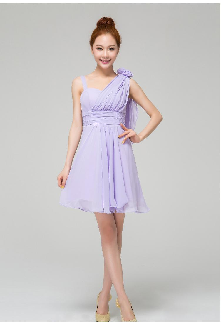Superb Newest Junior Bridesmaid Dresses Formal Dresses Wedding U0026Amp; Events Clothes  Purple Color Sweet Lady Princess Dress Sexy Slim Dress One Should Junior ...