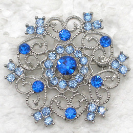 bridesmaids gifts Australia - 12pcs lot Wholesale Crystal Rhinestone Brooches Bridesmaid Wedding Party prom Flower Pin Brooch Fashion costume jewelry gift C455