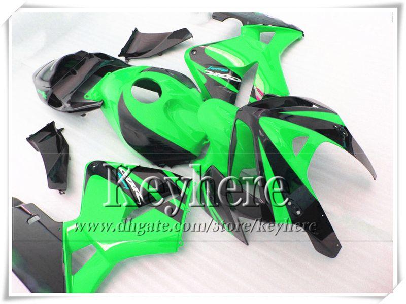 Freeship green black fairing bodykits for CBR-600RR 2005 2006 Honda Injection F5 motobike parts CBR600RR 05 CBR 600RR 06 with 7 gifts Yr48