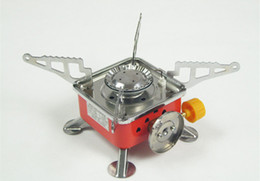 Wholesale Wholesale Butane Fuel - K202 Portable Camping Stove Outdoor Picnic Stove Powered by Butane Propane Fuel
